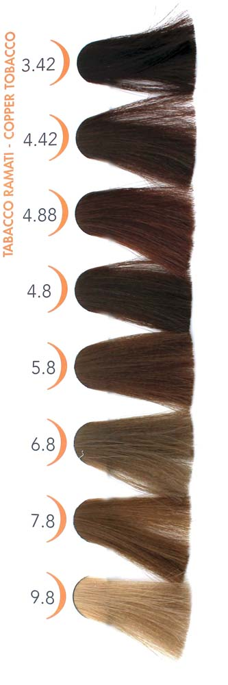 Reflexions 6ngv Tobacco Light Brown Strands Hair