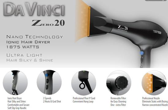 Da Vinci Professional Haircare Zero 20