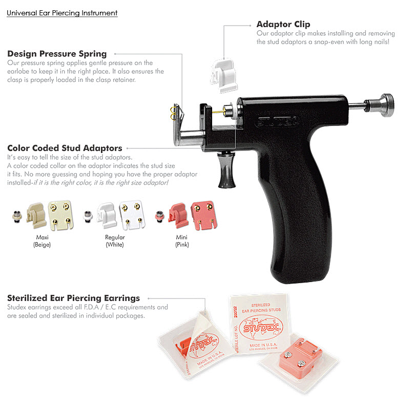Earing Studs Earing Guns Ear Piercing Starter Kit